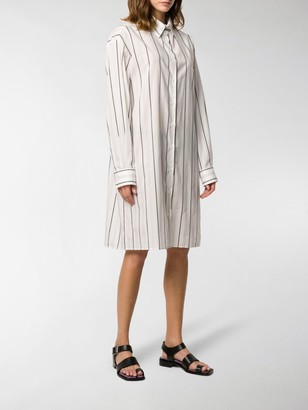 Maison Margiela Pinstripe Dress