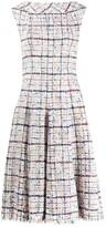 Talbot Runhof sleeveless yarn midi dress