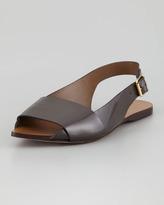 Marni Pointed Toe Slingback Sandal