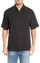 Tommy Bahama Men's Big & Tall I Say Merlot Silk Camp Shirt