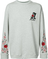 Adaptation - Adaptation X The Chain Gang oversized Weeping Rose sweatshirt - unisex - Cotton/Polyester - S
