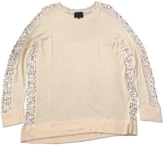 Hotel Particulier White Cashmere Knitwear
