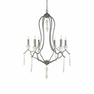 Aidan Gray Fresco 6-Light Candle Style Empire Chandelier