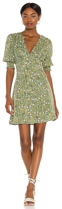 MinkPink Tully A Line Mini Dress