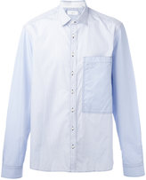 Joseph Striped large pocket shirt - men - Cotton - 39