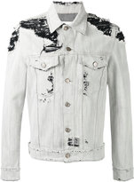 Golden Goose Deluxe Brand distressed denim jacket
