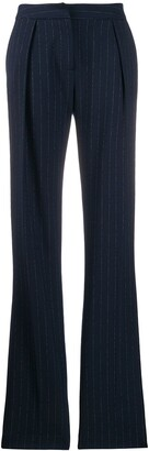 Act N�1 Flared Pinstripe Trousers