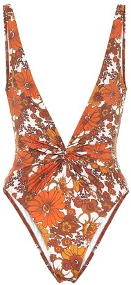 Dodo Bar Or Floral swimsuit