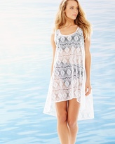 Soma Intimates Crochet Tunic Cover Up White