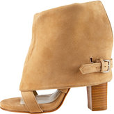 Two-Way Suede Bootie
