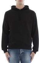 Calvin Klein Men's Black Cotton Sweatshirt.