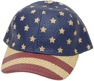 San Diego Hat Co. Unisex Stars & Striped PaperBall Cap
