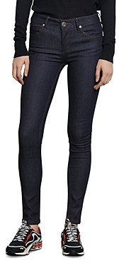 Sandro Ulrick High-Rise Jeans in Raw