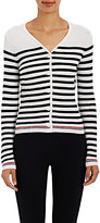 Thom Browne WOMEN'S WOOL CORRUGATED KNIT CARDIGAN SIZE 3