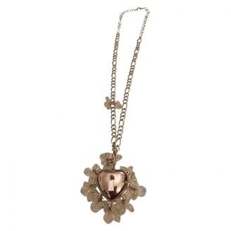 Christian Dior Silver Metal Necklaces