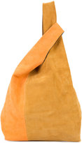 Hayward colour block shopper tote - women - Suede - One Size