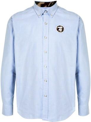 AAPE BY *A BATHING APE® Side-Stripe Shirt