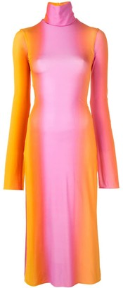 Ellery Bach tie-dye dress
