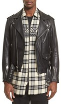 3.1 Phillip Lim Men's Classic Leather Moto Jacket
