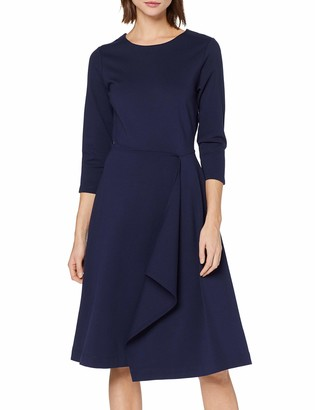 Meraki Amazon Brand Women's Midi A-Line Dress