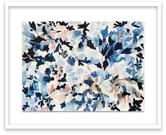 "One Kings Lane Jen Garrido - Black & Blue Art - 19""L X 24""W"