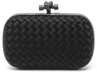 Bottega Veneta Knot Satin Clutch