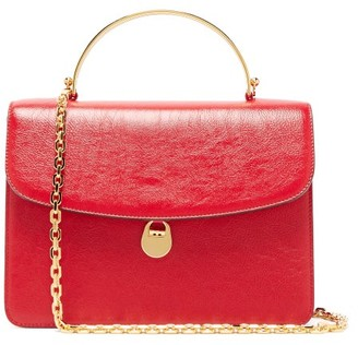 BIENEN-DAVIS Charlie Leather Top-handle Bag - Red