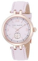Ted Baker Women's 10023476 Classic Analog Display Japanese Quartz Purple Watch