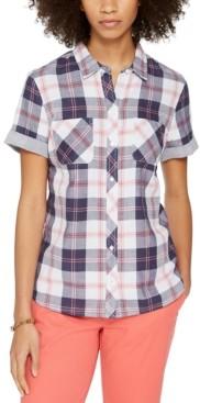 Tommy Hilfiger Plaid Camp Shirt