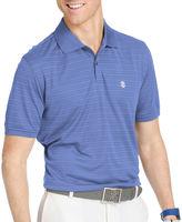 Izod Golf Textured Striped Polo