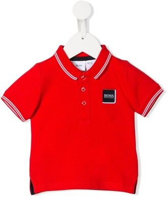 Boss Kidswear Embroidered Logo Polo Shirt