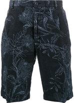 Etro floral printed Bermuda shorts - men - Linen/Flax - 52