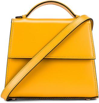 Hunting Season Small Top Handle Bag in Yellow | FWRD