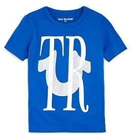 True Religion Boys' Reflective Logo Tee - Little Kid, Big Kid