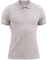 Orlebar Brown Jarrett Cotton-terry Polo Shirt - Mens - Light Grey