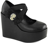 Demonia Women's Poison 02 Platform Mary Jane