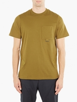 Oamc Khaki Airborne Cotton T-Shirt