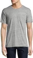 Wesc Baden Patch-Pocket Tee, Gray