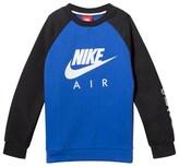Nike Blue and Black Sportswear Sweater