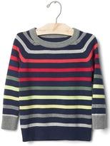 Gap Multi stripe crew sweater