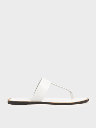 Charles & Keith T-Bar Slide Sandals