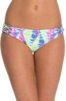 Bikini Lab Live and Let Tie Dye Hipster Bikini Bottom 8125416