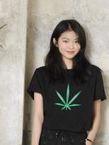 Chubasco M T shirt Big Weed Black M17102[unisex]