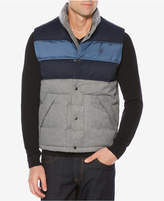 Original Penguin Men's Colorblocked Down Vest