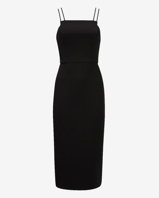 Express Double Strap Square Neck Sheath Dress