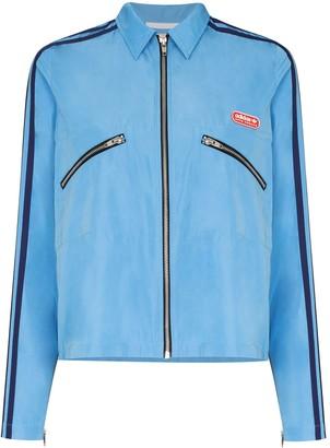adidas x Lotta Volkova shirt style track jacket