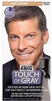 Just For Men Touch of Gray Men's Hair Color, (Pack of 3)