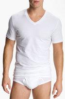 Nordstrom Men's 4-Pack Trim Fit V-Neck T-Shirt