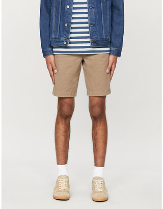 Ted Baker Core relaxed-fit cotton-blend shorts