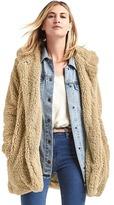 Gap Cozy sherpa hooded coat